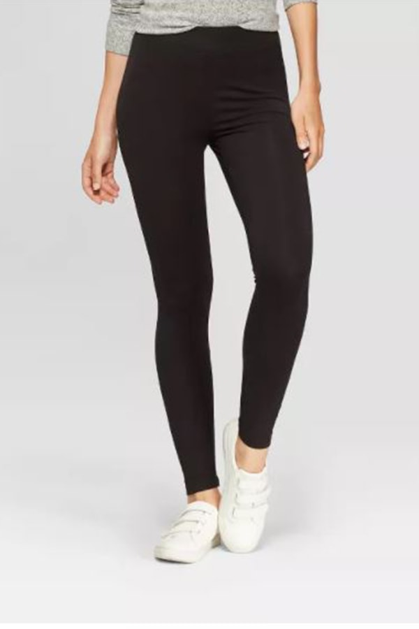 Black leggings from Target