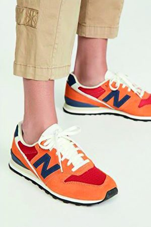 Orange sneakers from New Balance