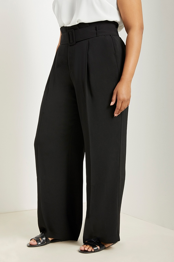 Wide legged pant from Eloquii Walmart collection
