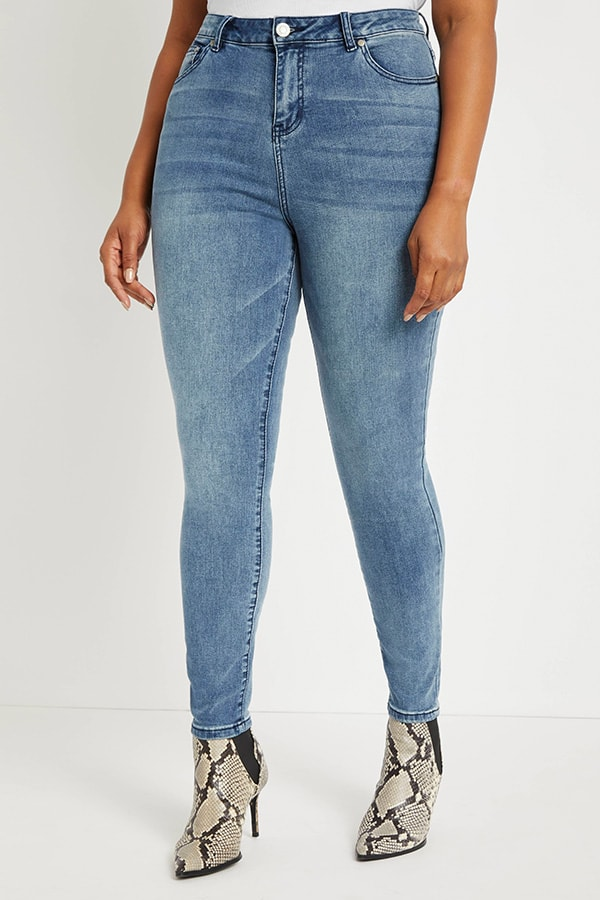 Eloquii at Walmart skinny jeans