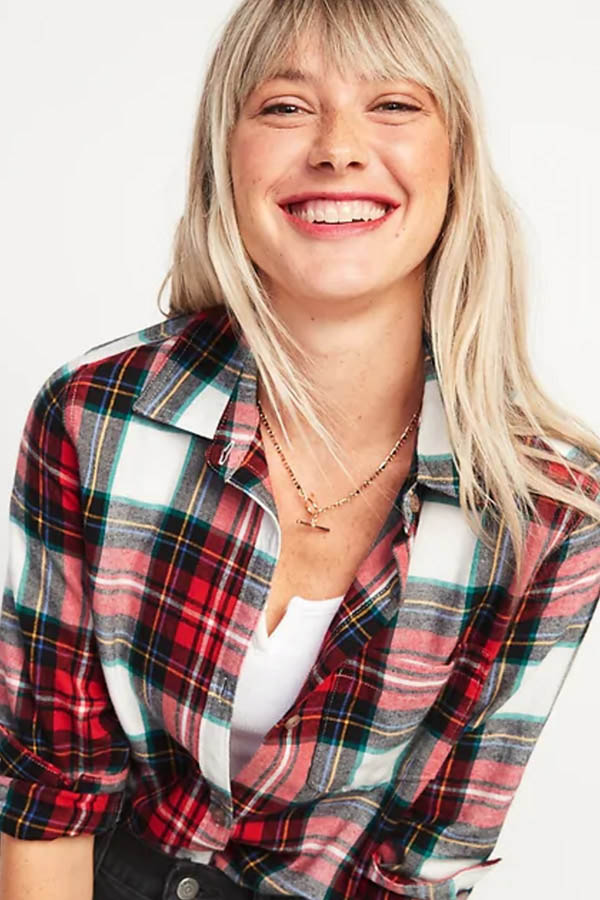 Flannel top from Old Navy
