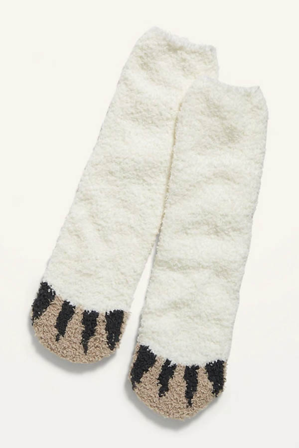 Fuzzy socks from Old Navy Sale