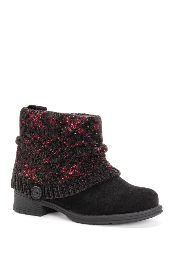 Muk Luks ankle boot