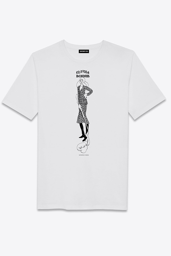 Contempo Tees t-shirt featuring hand-drawn illustrations