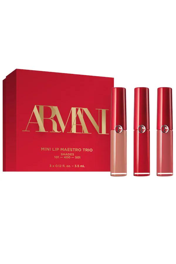 Armani lip trio
