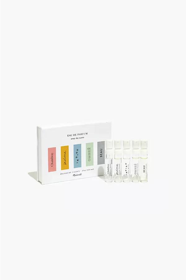 Madewell fragrance sampler
