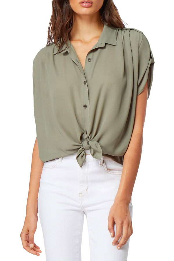 Utility blouse from Nordstrom Rack