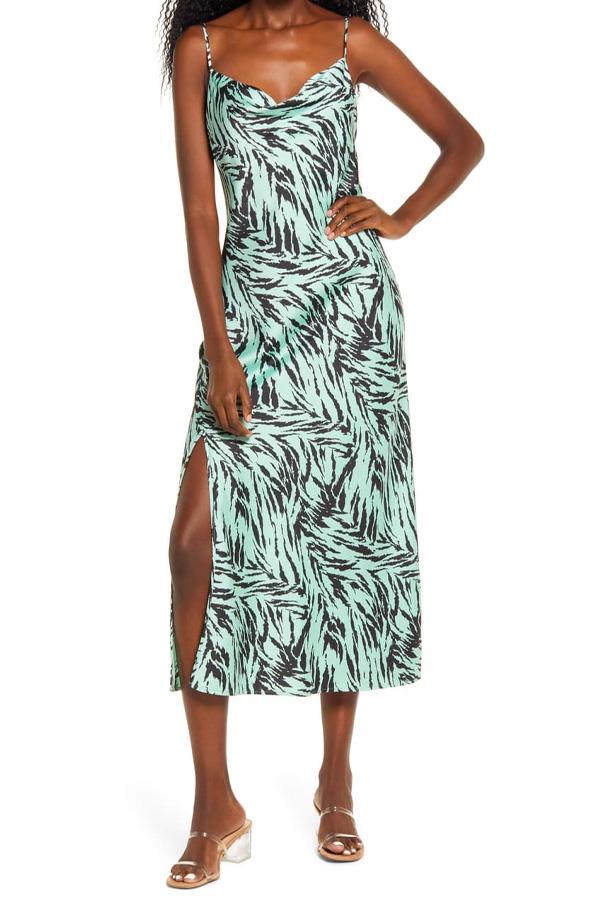 Printed slip dress from Nordstrom Rack