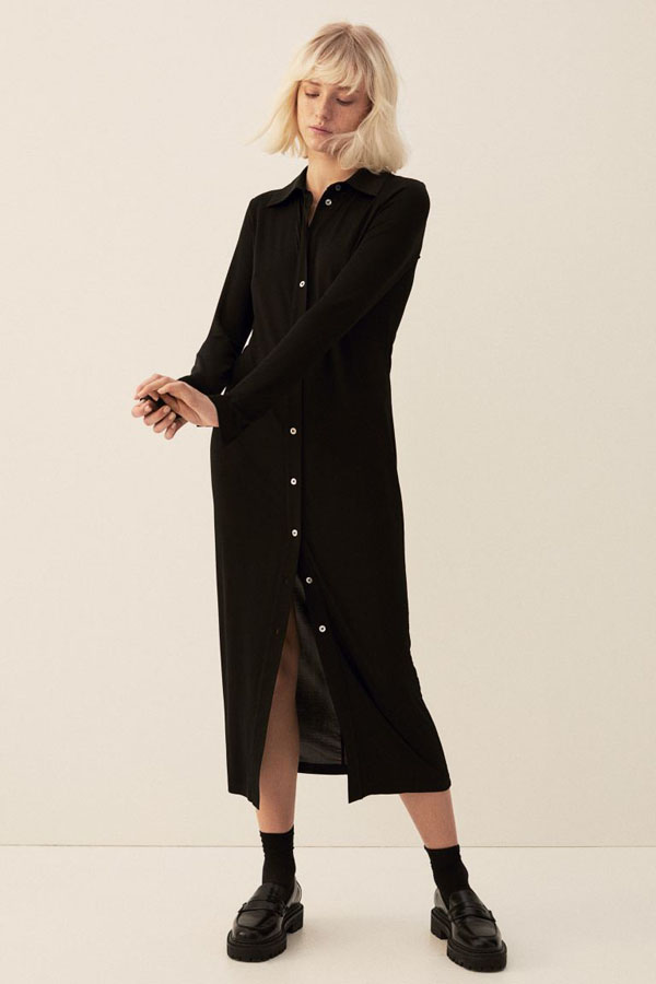 Calf length dress from H&M new arrivals