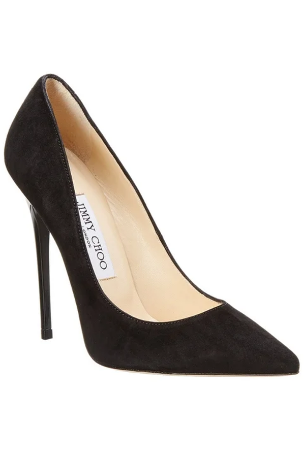 Jimmy Choo pumps from Overstock.com.