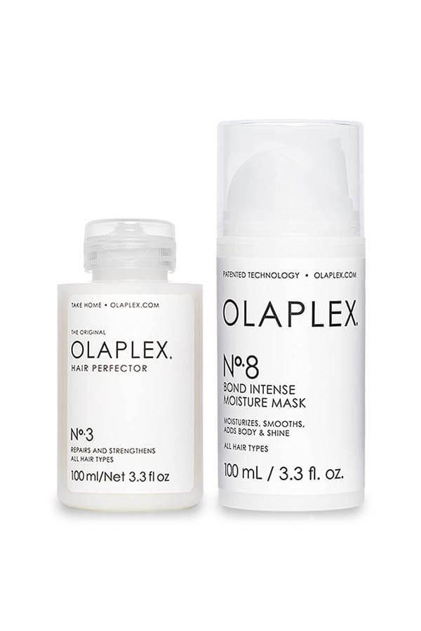 Olaplex hair repair bundle.